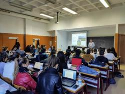Conference held on Tuesday, November 26, at the Aulari II of the University of Alicante
